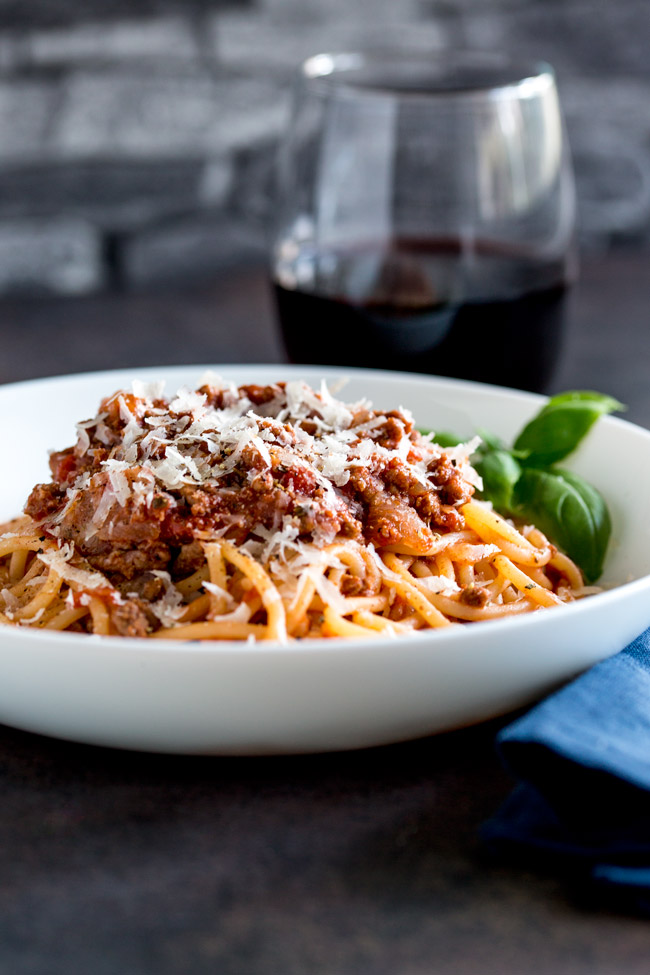 Spaghetti Bolognese is a dish loved the world over. This Classic Spaghetti Bolognese is cooked long and low to leave you with a rich, deep ragu that is loaded with flavor. A classic family favourite. From Easy Pasta Sauces