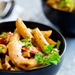 Sweet, succulent juicy shrimp, cooked with traditional Creole flavors in a cream cheese and sour cream sauce. This Creamy Louisiana Shrimp Pasta is rich and delicious. From Easy Pasta Sauces.