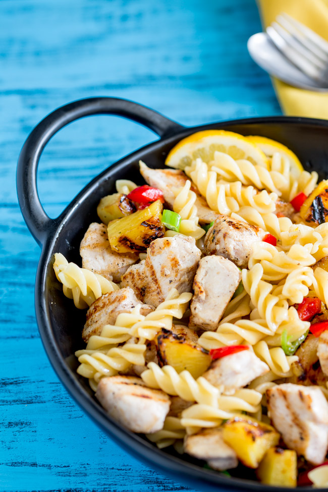 This Hawaiian En Pasta Salad Is Sweet And Tangy Perfect For The Long Summers Days